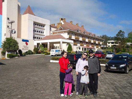 Thermas Piratuba Park Hotel : Frente do hotel