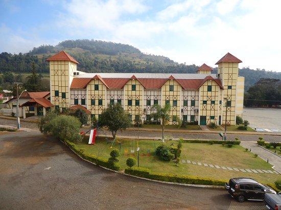 Thermas Piratuba Park Hotel : Vista do quarto do hotel
