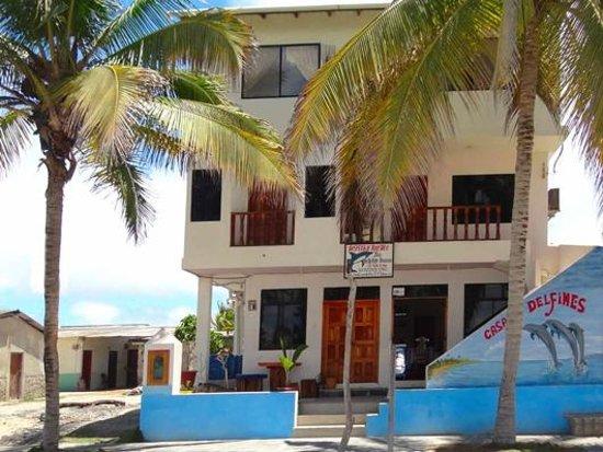 Casa Los Delfines: Facade