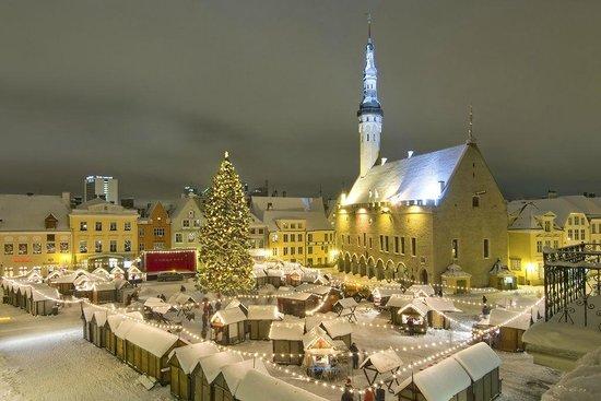 Estland: Tallinn Christmas Market