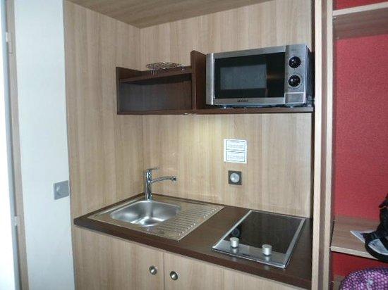 Quality Suites Lyon Confluence : Angolo cottura