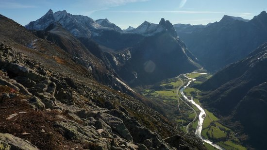 Mountain trips in Romsdal