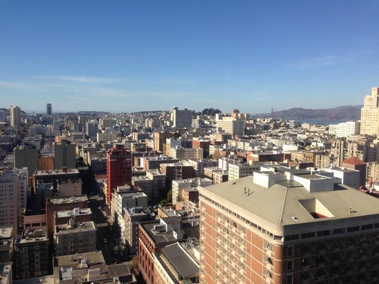 The Westin St. Francis San Francisco on Union Square: View is the saving grace of this otherwise outdated hotel