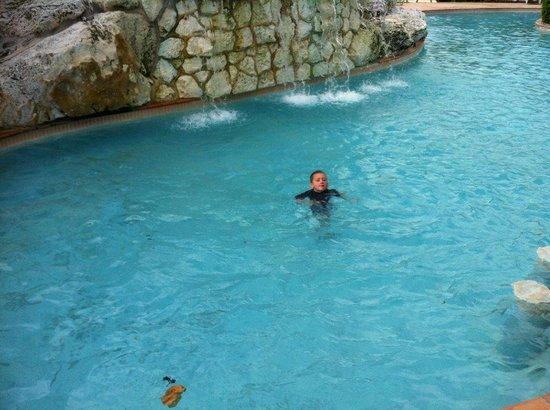Island Seas Resort: part of the pool