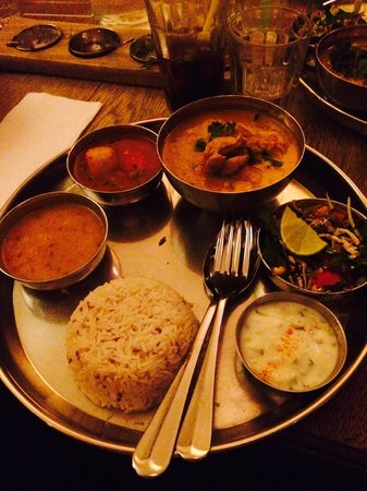 Thali Cafe Clifton : Chicken Mogul Curry
