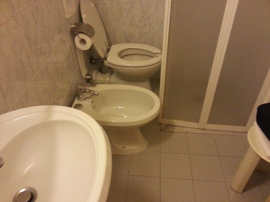"Delle Nazioni Hotel: This is the ""upgraded"" bathroom"