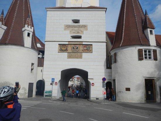 Donauradweg: Adentrando na cidade de Krems