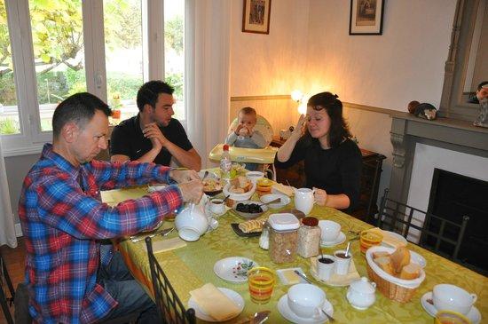 Villa Corisande: Pour bien commencer la journée : un excellent petit déjeuner