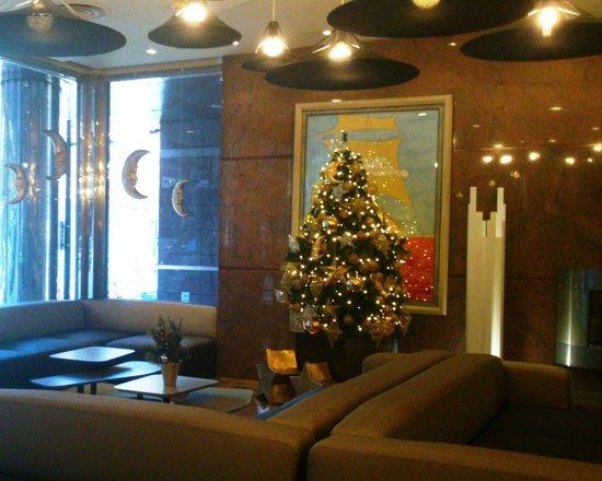 Holiday Inn Andorra: Detalle navideño del Salón
