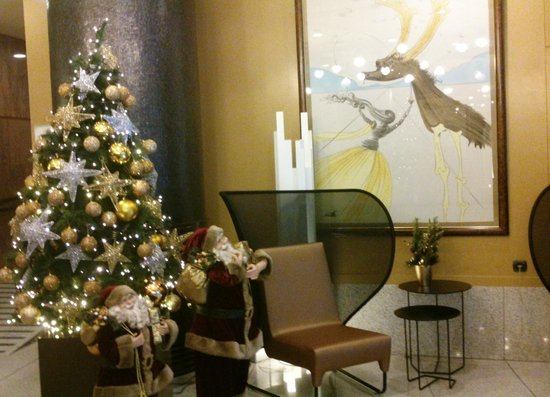 Holiday Inn Andorra: Detalle Salón-Recepción