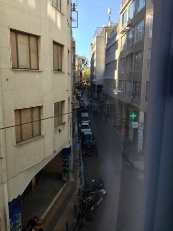 A for Athens: View from Side-Room