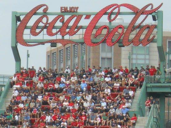 Fenway Park: coca cola