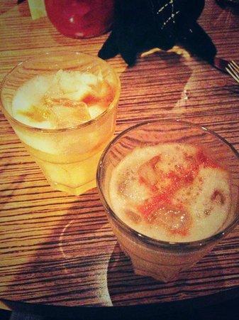 Las Iguanas - Nottingham: Happy hour cocktails.