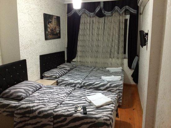 Konut Wooden House: Кровати
