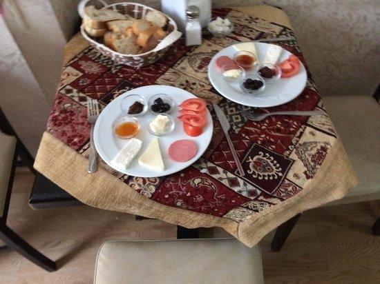 Konut Wooden House: Завтрак