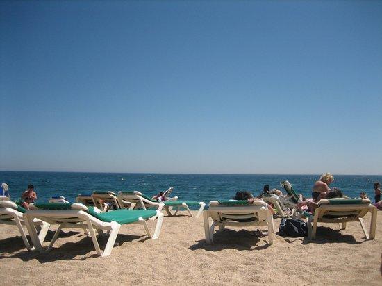 Hotel Marsol: пляж