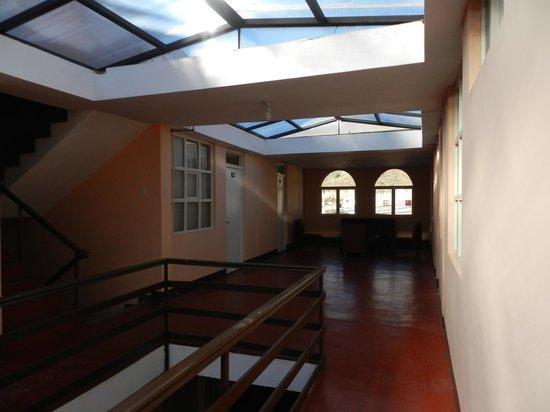 Colca Inn Hotel: Telhado de vidro, tornando o ambiente delicioso