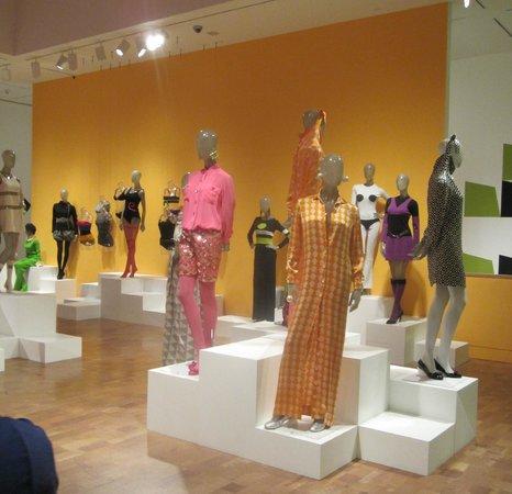 The Museum of Contemporary Art: retro Mod fashion 1