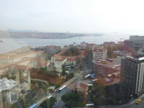 InterContinental Istanbul : club view