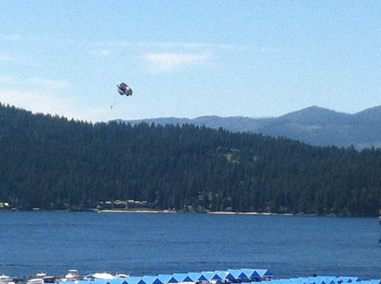 Coeur d'Alene Lake: CDA From the sky
