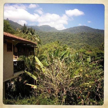 Pousada Tagomago Beach Lodge: View from balcony