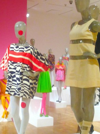 The Museum of Contemporary Art: day-glo colors and graphic prints
