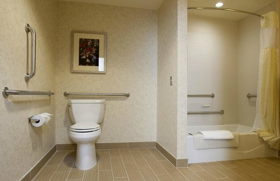 Our handicap accessible rooms offer both tubs or roll in showers ...