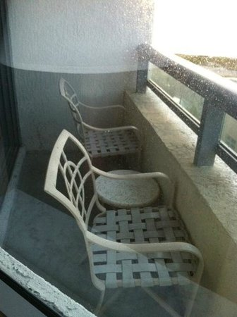 Residence Inn Fort Lauderdale Pompano Beach/Oceanfront: small patio