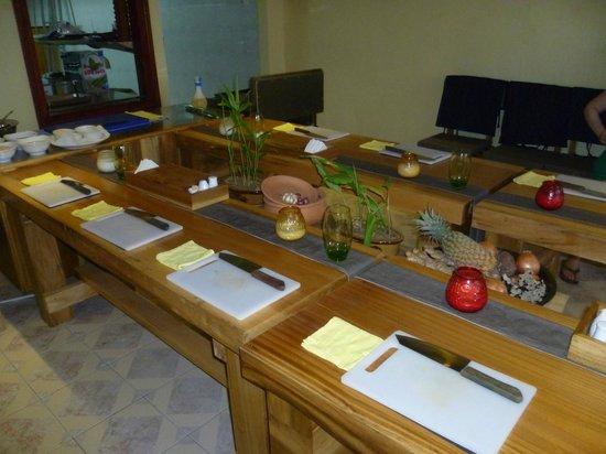 The Little Menu Restaurant: Cooking class
