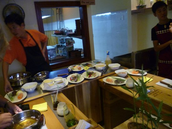 The Little Menu Restaurant: Learning to cook