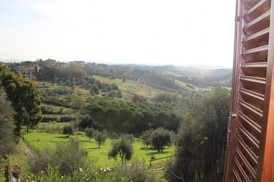 Hotel Santa Caterina: вид из окна