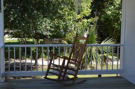 The Cajun Village: Rocking Chair On Louisiana Potteryu0027s Porch