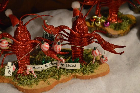 Louisiana themed Christmas ornaments - Picture of The Cajun ...