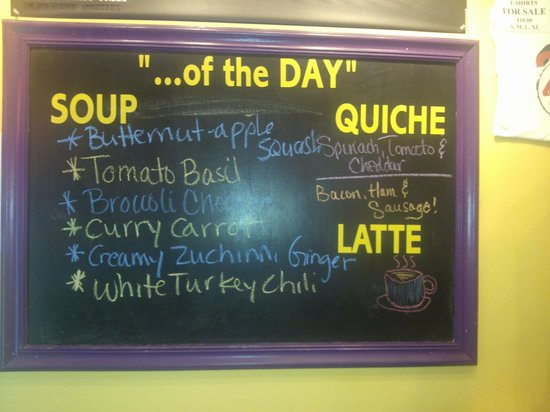 22 Utica St Cafe: Homemade Soup Choices
