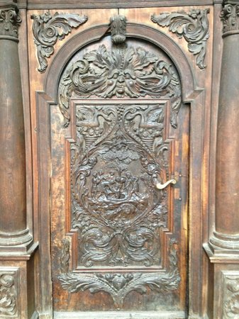 Cathedral of St. John the Baptist: Entrance door to the Cathedral