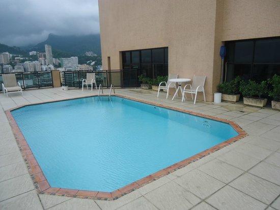 Hotel Mercure Leblon: Piscina na cobertura