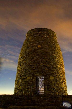 Washington Monument State Park: 1st Monument to Geo Washington at dusk