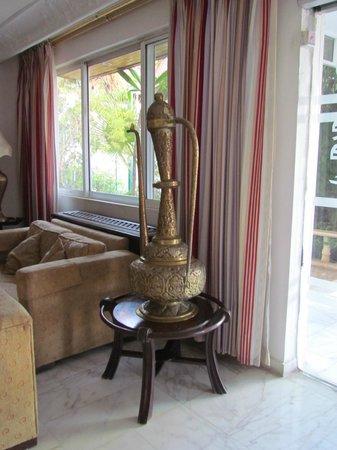 Amra Palace Hotel : reception area
