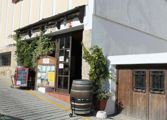 Museo del Vino: Entrance