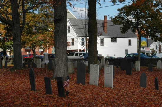 Gorham, ME: Historic Cemetary in the Village