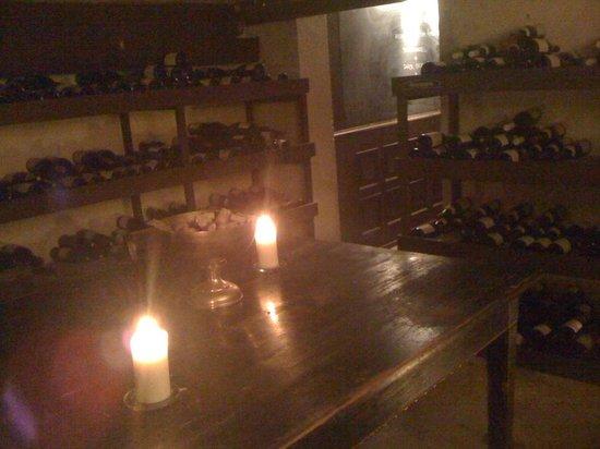 Norsminde Kro: La cave à vin de l'hôtel