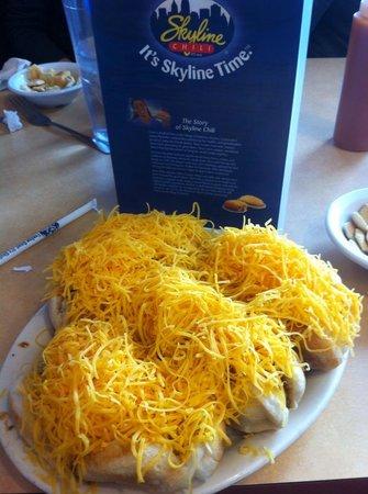 Skyline Chili : Four cheese coneys