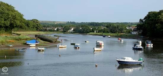 Tarka Bed and Breakfast: Fremington Quay Estuary