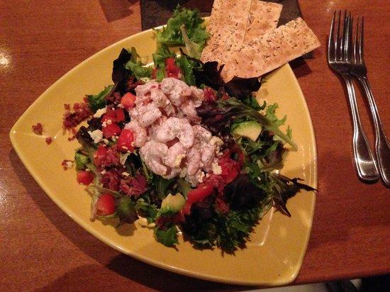 City Range Steakhouse Grill: Shrimp salad
