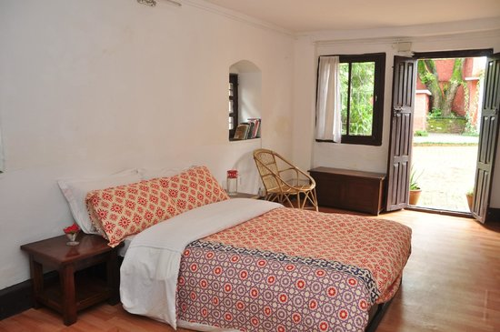 Cocina Mitho Chha: Doble room in the Bed and Breakfast