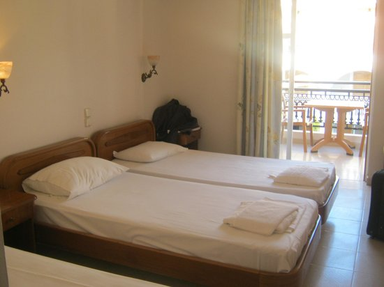Marelen Hotel: on arrival
