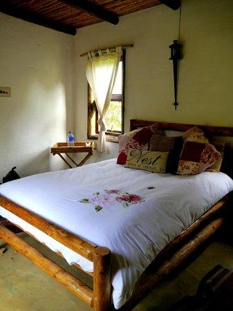 Dijembe Backpackers Hostel: our lovely room
