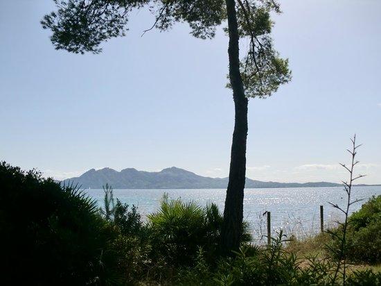 Cap de Formentor: view towards alcudia headland