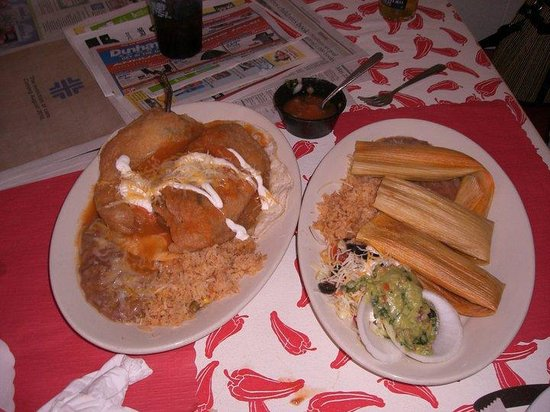 Hot Tamales: Chile relleno, Tamales