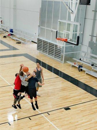 Spooky Nook Sports: Basketball courts. Adult leagues